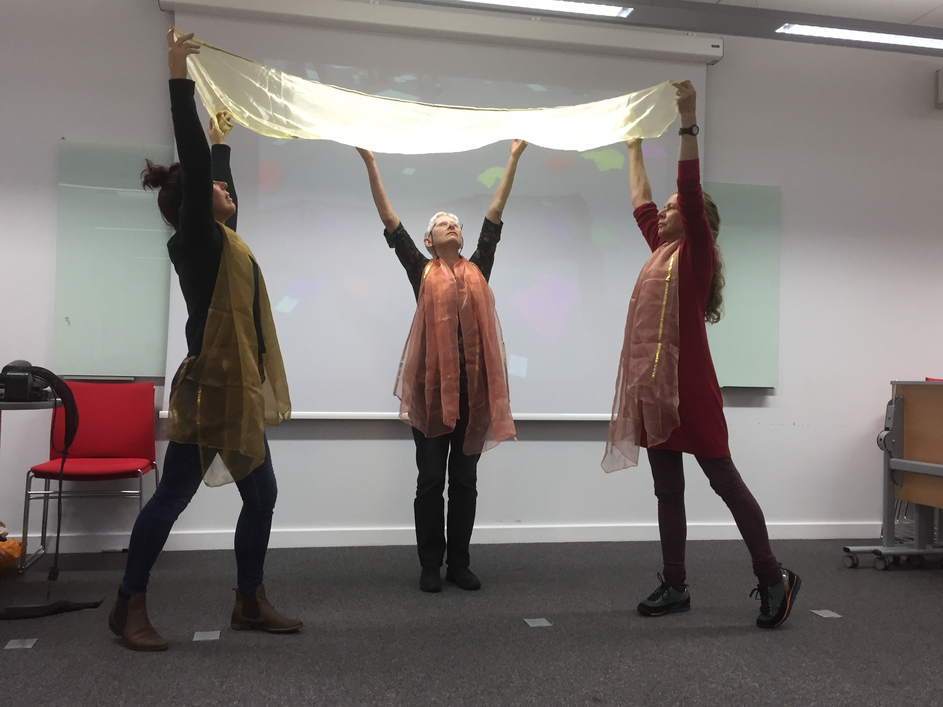 Trent Dementia image: photo of Dance and Dementia project